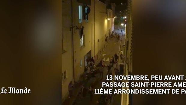 Espeluznante vídeo del atentado en la sala Bataclan