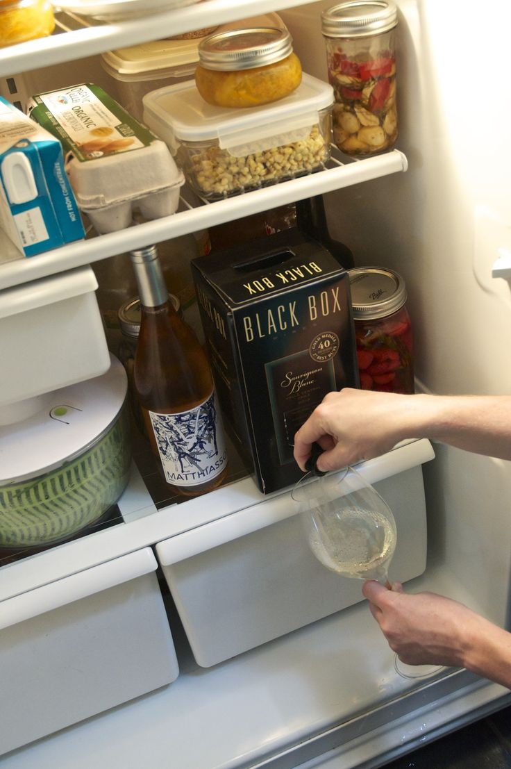 Why I Always Have a Box of Wine in My Refrigerator