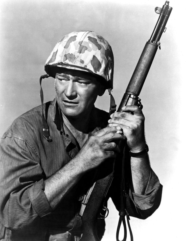 John Wayne Sands of Iwo Jima, 1949, one of the best war movies ever made.