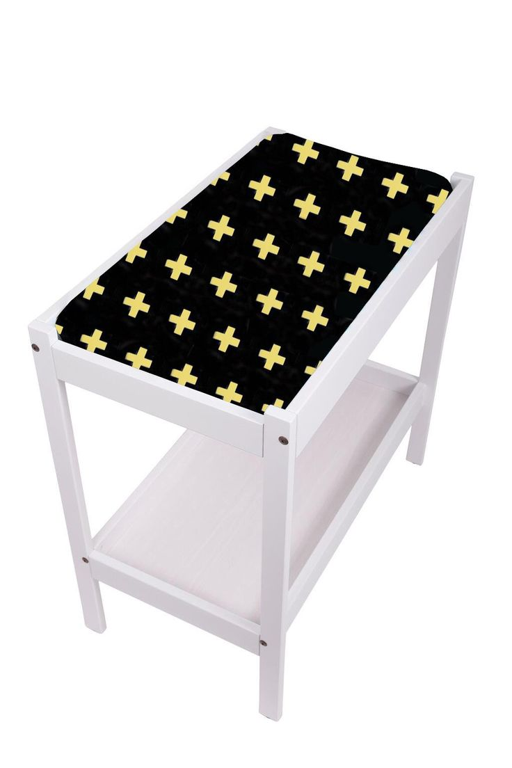 Change Table Mat Cover- Crosses Gold