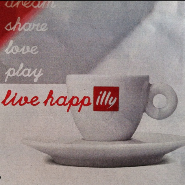 illy - my favorite coffee