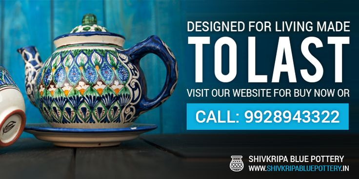 Shivkripa Bluepottery is a leading manufacturer & supplier of Blue Pottery and offers beautiful blue pottery products like Hand Painted Ceramics Tiles, Plates, Hangers, Ash Tray, Candle Stands etc to decorate your dream home...