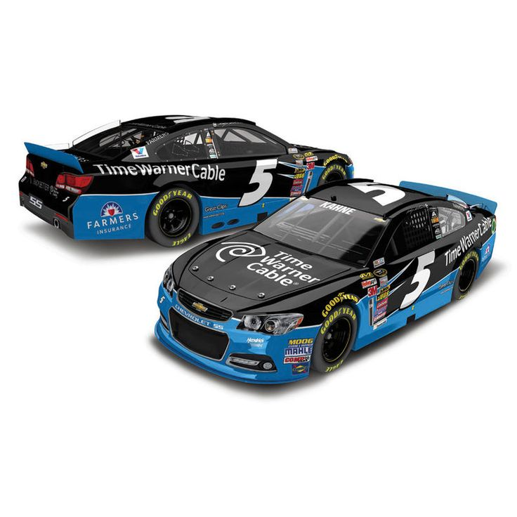 Action Racing 2014 Kasey Kahne #5 Time Warner Cable 1:24 Scale Platinum Die-Cast Chevrolet SS