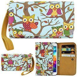 Whimsical Owl Store: Owl Smartphone Wallet-Case For Apple iPhone 6 Plus Samsung