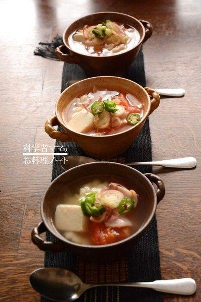 豆腐入り洋風すいとんで朝ごはん
