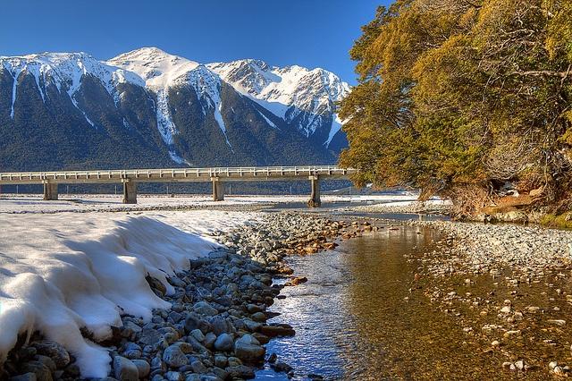 Waimakariri River, In all its winter glory.