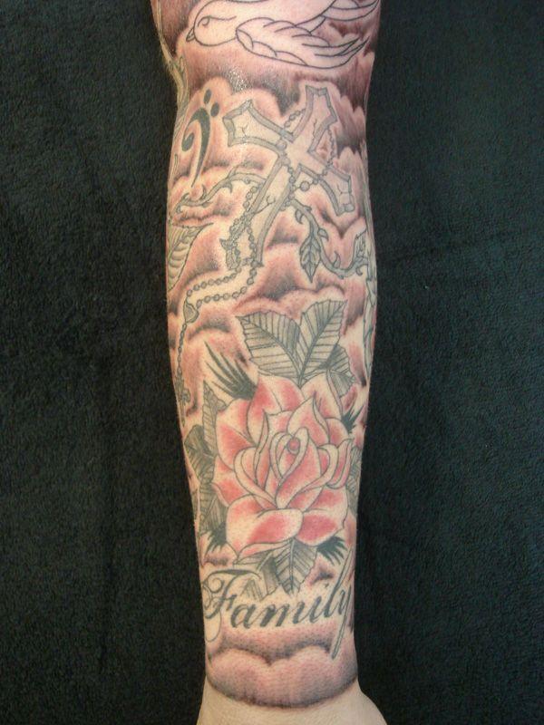 Lower Tattoo Sleeve: 15 Best Lower Arm Half Sleeve Tattoo Drawings For Women