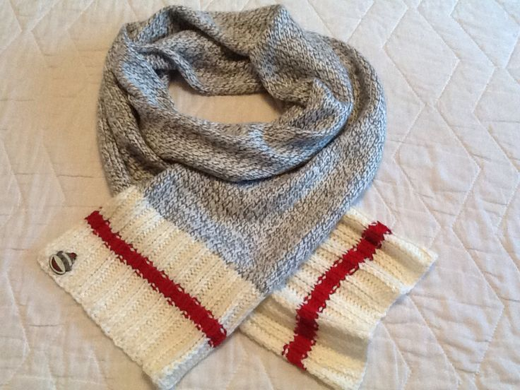 Nov. 25, 15   Finished my scarf . . . Let it snow  ❄️❄️❄️