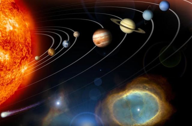 Pictures of 9 Planets
