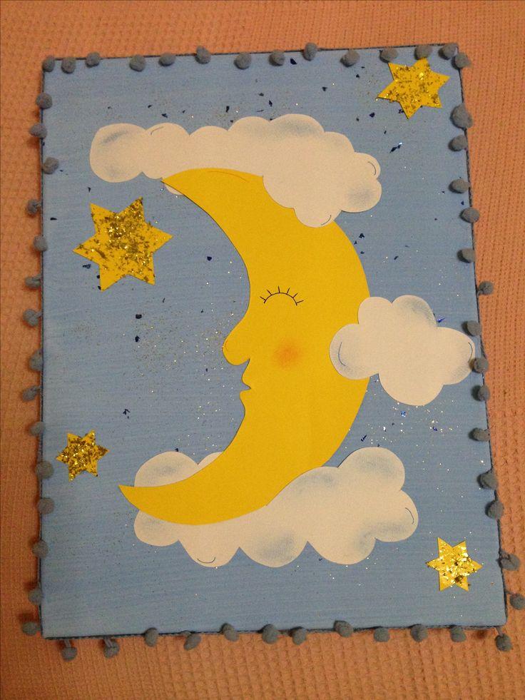 Moon 🌙 craft canva
