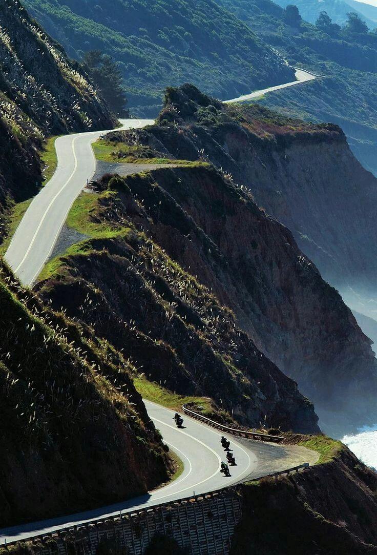 Pacific Coast Highway Road