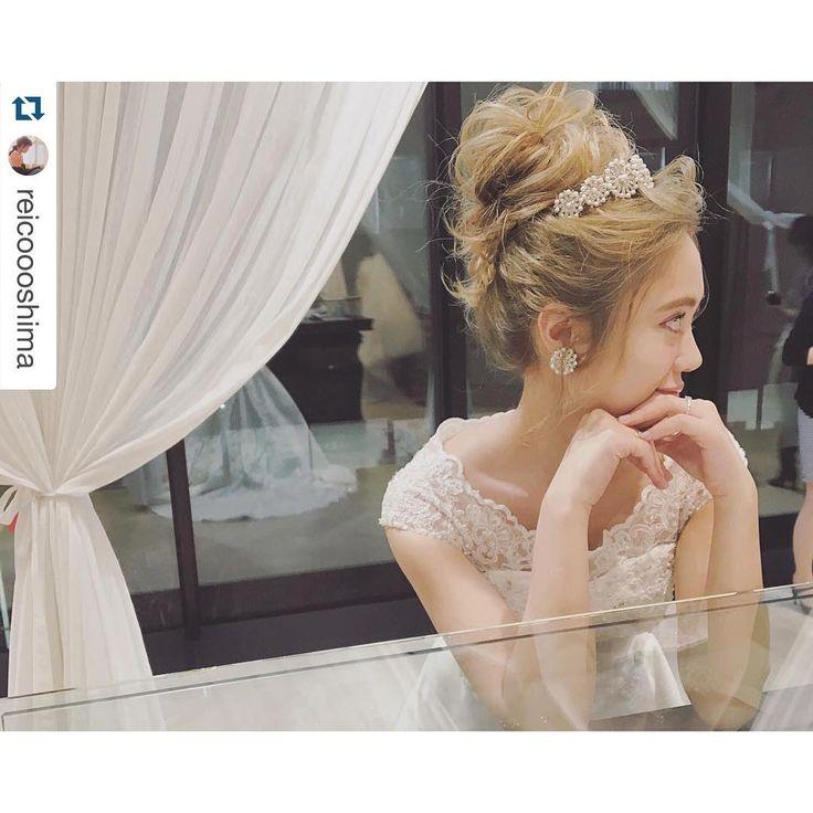 「marry会イベント モデルの @reicoooshima ちゃん✨ 本日参加頂きました皆様ありがとうございました #takamibridal#marry会#bridal #ブライダル#g__style」