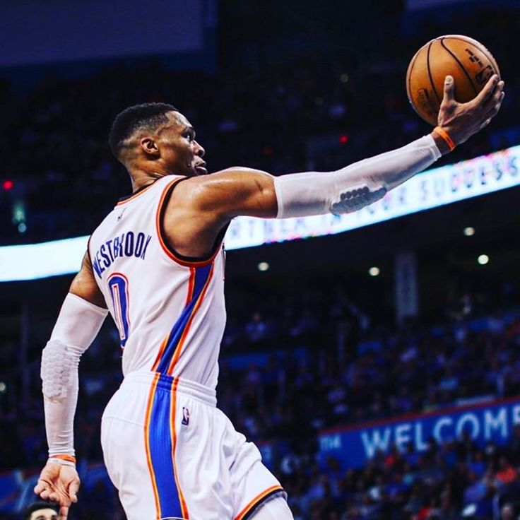 Russell Westbrook NBA Western Conference Player of the Month for February. Half dozen triple-doubles in…""