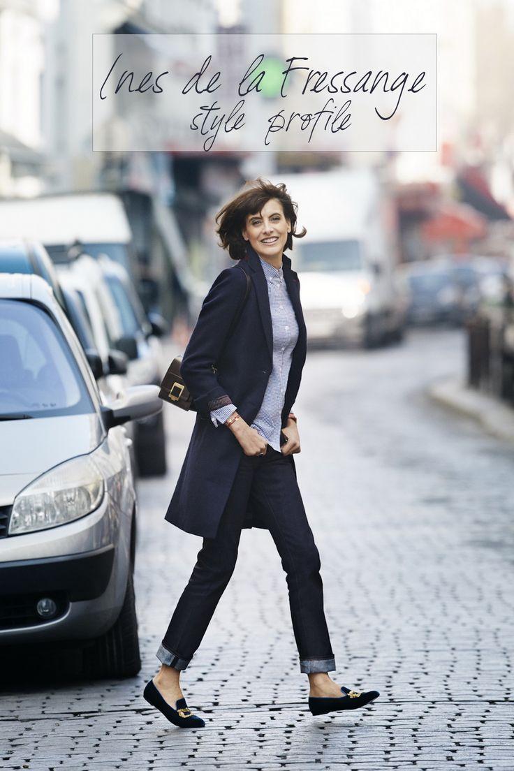 Ines de la Fressange Style Profile | Miranda's Notebook