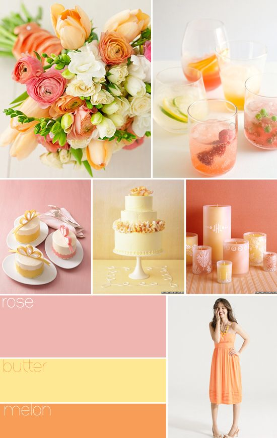 Rose, Butter and Melon  Rose, Butter, and Melon   Here's a light, refreshing…