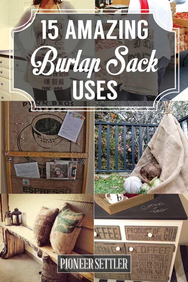 15 Burlap Sack Uses Not Just A Bag Of Potatoes Burlap