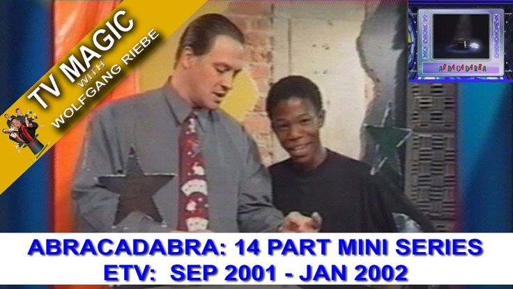 TV Magic Abracadabra Series Wolfgang Riebe Sep Jan 2002