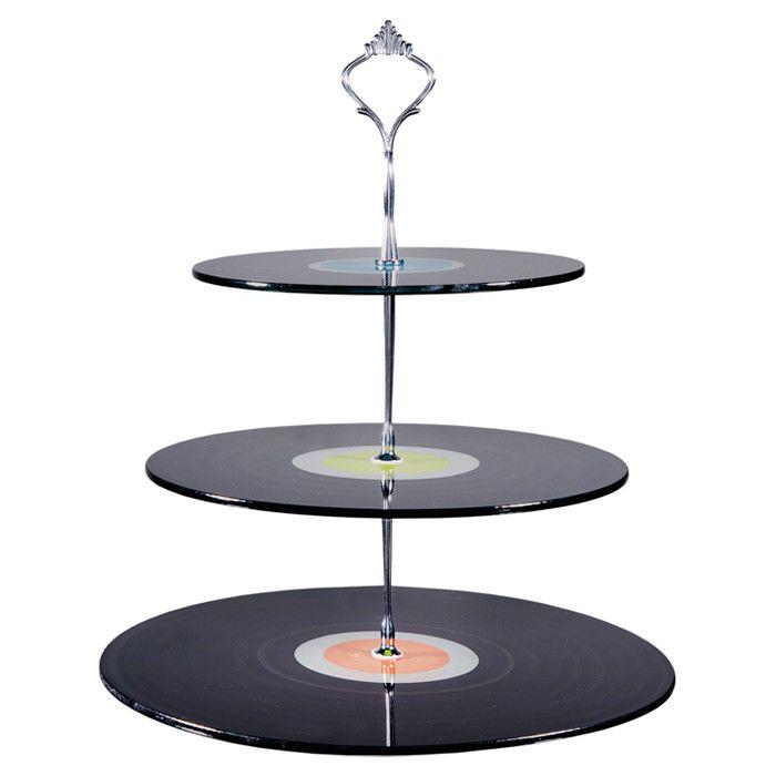 Record Dessert Stand - The Retro Diner on Joss & Main