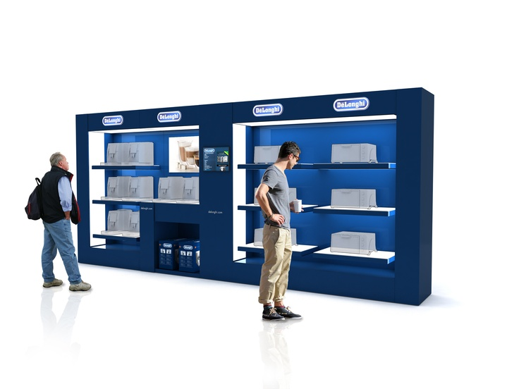 De Longhi  Brand experience at retail