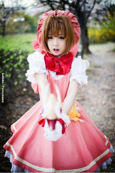 Kinomoto Sakura | Card Captor Sakura #cosplay #anime #manga