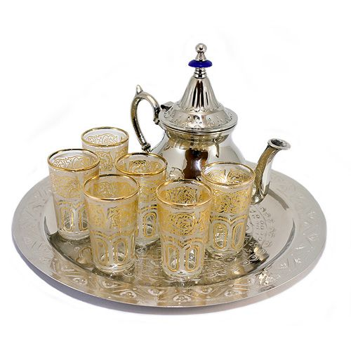 Authentic Moroccan tea set