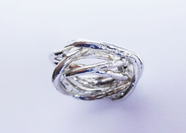 a little nest made entirely in #silver  www.facebook.com/gioiellifenzl