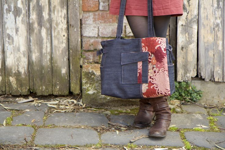 Curlybird Designs Carry-All Tote