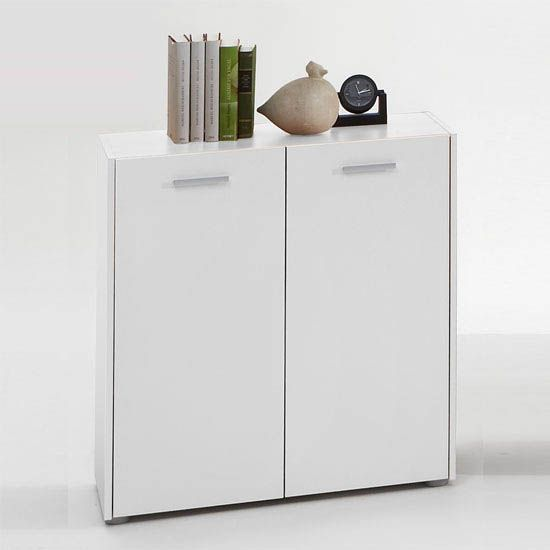 Johanna1 Sideboard In White With 2 Doors