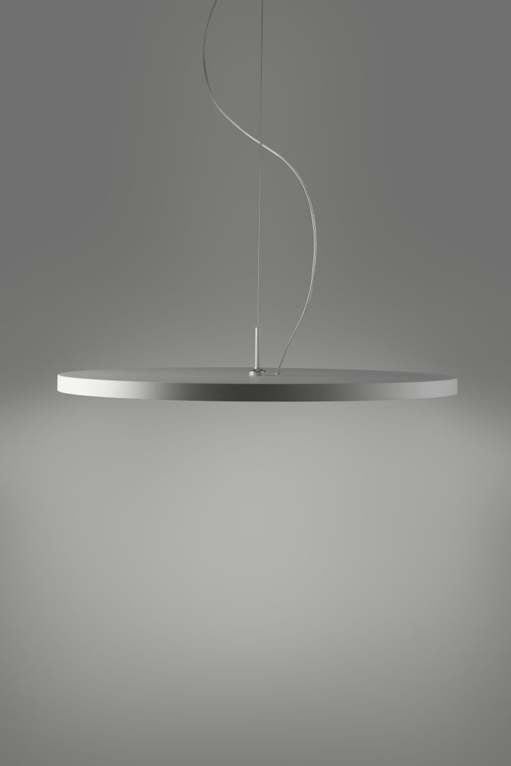 The Light Game pendant lighting allows you to move the lighting unit at will... Made In Italy. Take a look.
