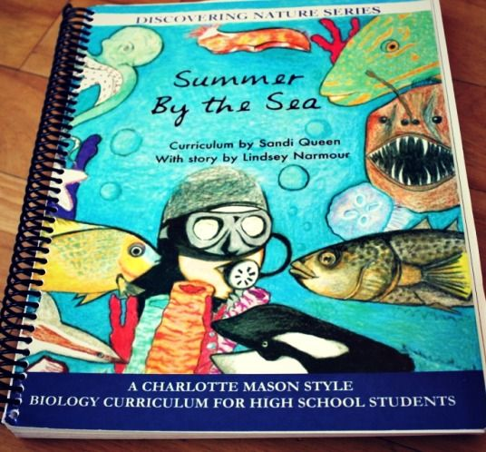 Charlotte Mason Science for upper grades - my 7th grader is working through this Marine Biology book.