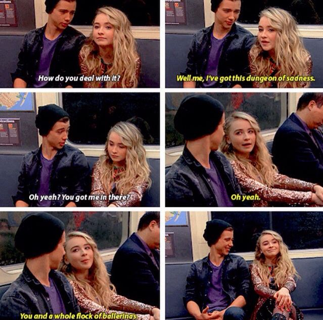 I'm starting to ship Josh & Maya...(Girl Meets World; Girl Meets First Date)