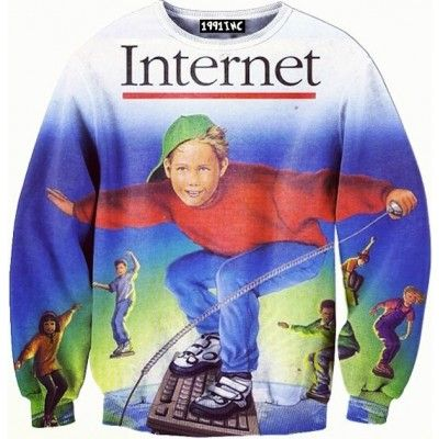 ☮♡ Internet Surfing Sweater ✞☆ ($65.00) - Svpply