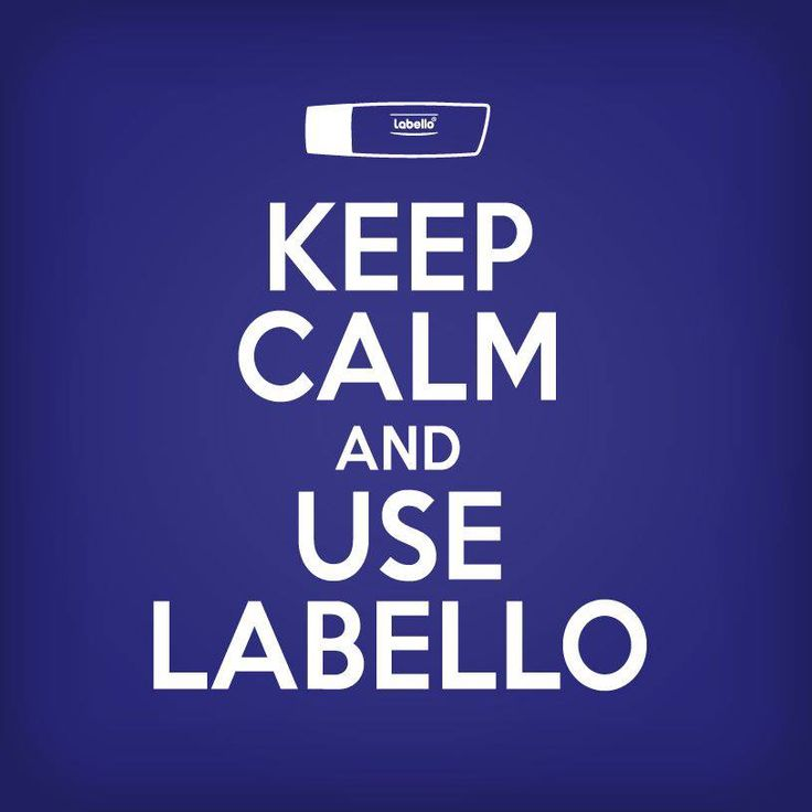 Keep calm and use Labello