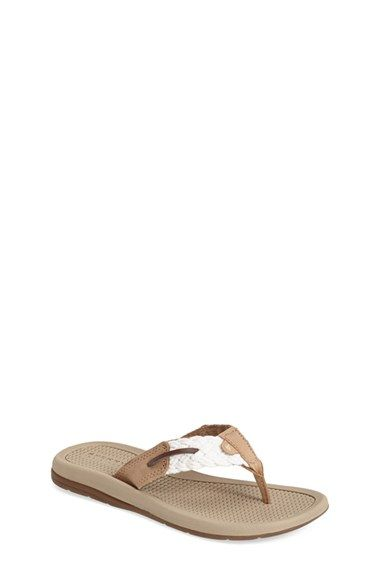 Girl's Sperry Kids 'Parrotfish' Thong Sandal