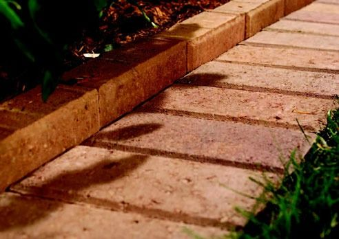 Red Brick Flower Bed Edging For The Home Pinterest