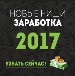 С НОВЫМ 2017 ГОДОМ! НАЧНЁМ ЗАРАБАТЫВАТЬ УЖЕ СЕЙЧАС ЗА 10 ДНЕЙ ВЫХОДНЫХ! http://mikezarabotok.blogspot.ru/