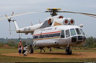 2 helicópteros de transporte Mil Mi-8 Hip