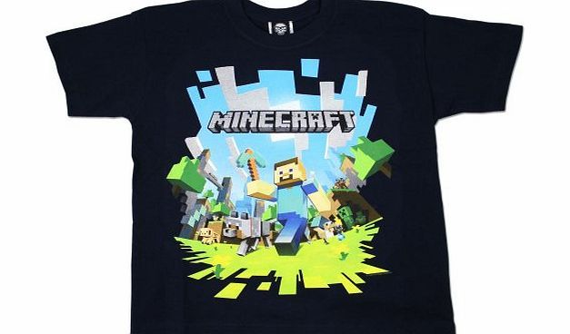 Character com Boys Minecraft T-shirt | Mine Craft Tshirt | Age 11 to 12 Years Boys Minecraft T-shirt. Excellent quality boys t-shirt. (Barcode EAN = 5055403068312). http://www.comparestoreprices.co.uk/kids-clothes--boys/character-com-boys-minecraft-t-shirt-|-mine-craft-tshirt-|-age-11-to-12-years.asp