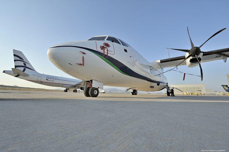 Olympic Air ATR 42-600 - cn 1016 SX-OAX First Flight 20. Nov 2014 Age 1.8 Years…