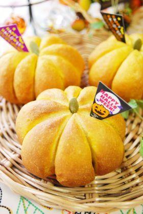 「【ハロウィン】ほっこりかぼちゃあんぱん」ayaka | お菓子・パンのレシピや作り方【corecle*コレクル】