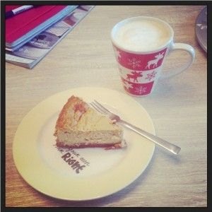 New York cheesecake (glutenvrij en suikervrij, mét zuivel deze keer)