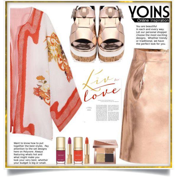 Yoins IX/1 by ewa-naukowicz-wojcik on Polyvore featuring moda, Bobbi Brown Cosmetics, Dolce&Gabbana, yoins, yoinscollection and loveyoins