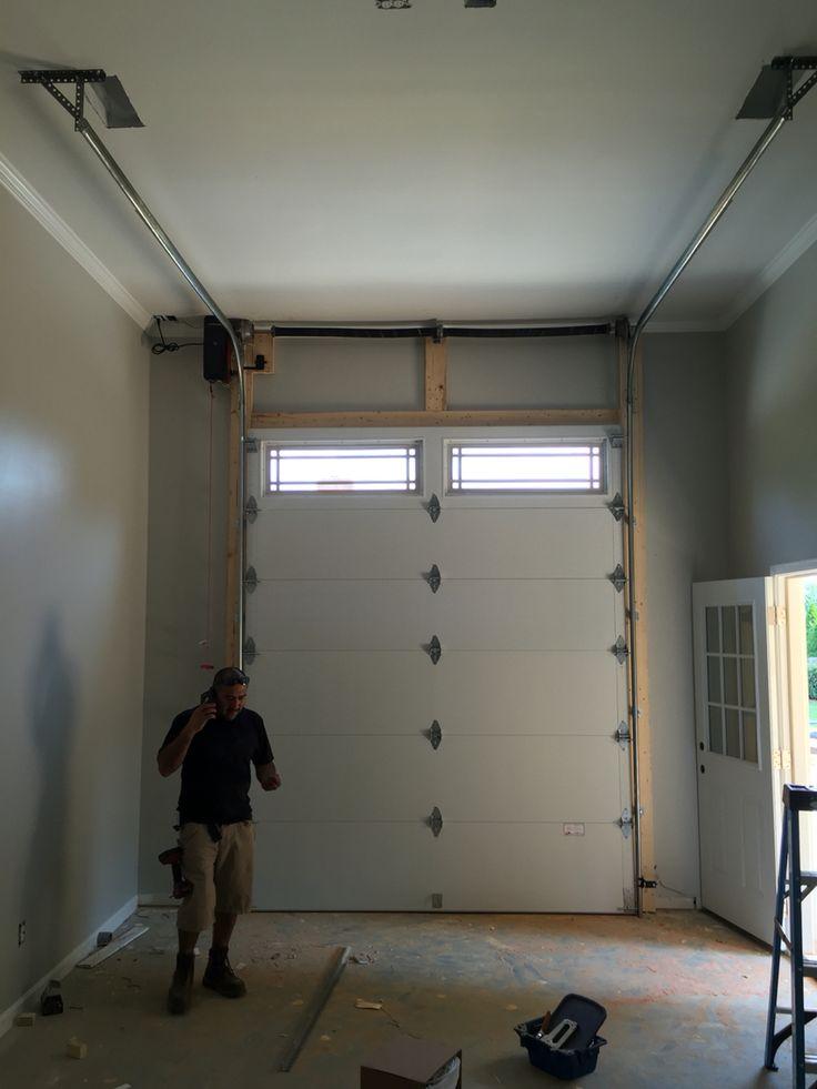 Garage Door Vertical High Lift.