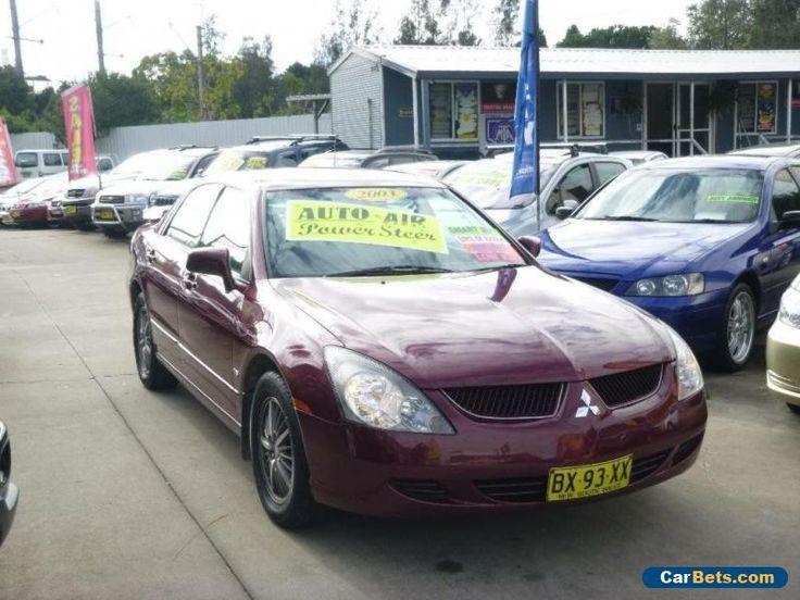2003 Mitsubishi Magna TJ Sports Red Automatic 5sp A Sedan #mitsubishi #magna #forsale #australia