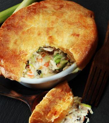 Κοτόπιτα «chicken pot pie» | Γιάννης Λουκάκος