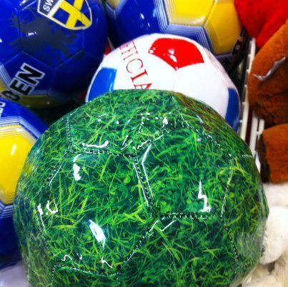 Ninja soccer ball! that would get lost n 2 seconds.flat. i want this ball!!