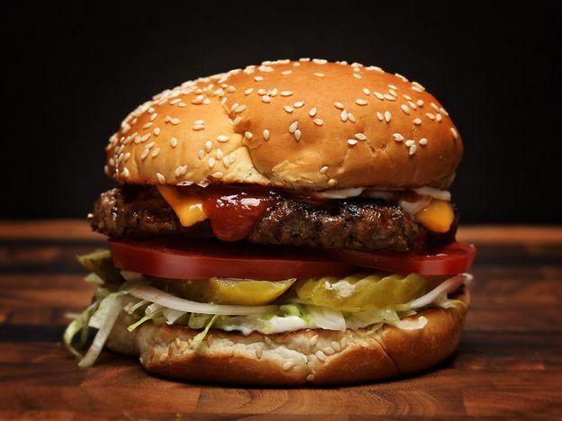 Homemade Burger King Whopper-Style Cheeseburgers