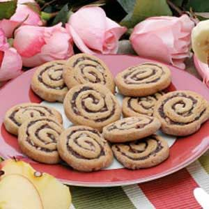 Date-Filled Pinwheels Recipe -Sliced thin, these cookies are crispy and chewy; sliced thick, they have a cake-like texture. Mom made these family favorites ahead of time and baked them just before we got home from school.