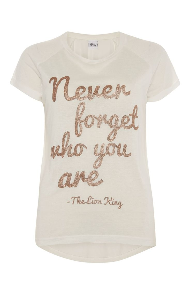 Primark - T-shirt met citaat uit The Lion King