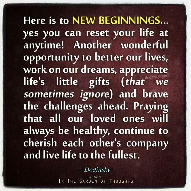 Great Quotes About New Beginnings: Happy New Beginning Quotes. QuotesGram